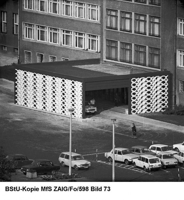 DDR-Demonstration, Ministerium für Staatssicherheit Stasi