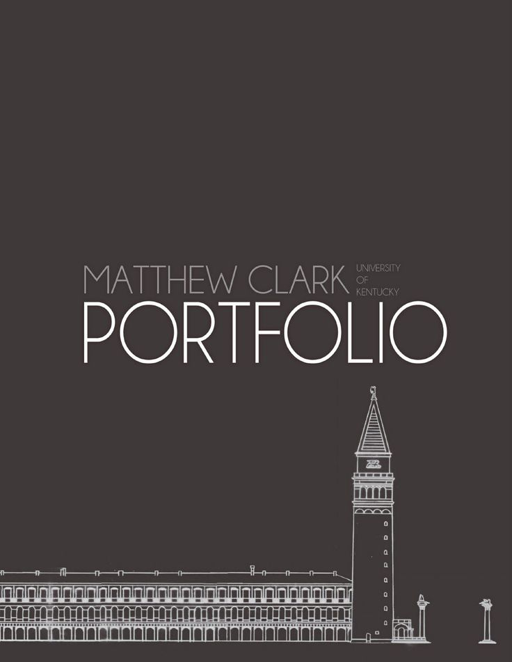 Best Architecture Portfolio Examples Ideas On Pinterest