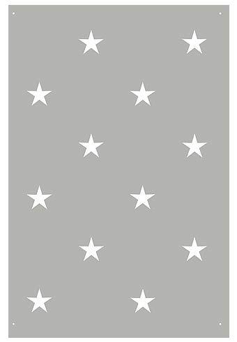 Star Stencils Large Polka Dot Star Style Stencil