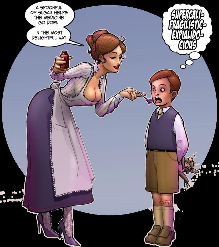 Mary Poppins gone SEXY | Cartoons | Pinterest | Mary poppins