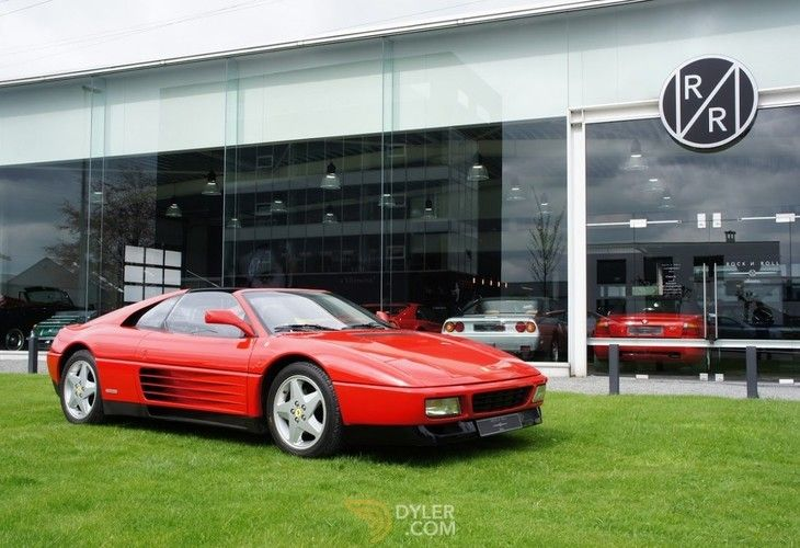 Ferrari 348 Ts Coupe 1991 Red Ts Car For Sale 169173 Ferrari