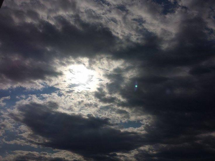 Il cielo sopra Celle Ligure, in una splendida foto di Gian Luca Panizza.