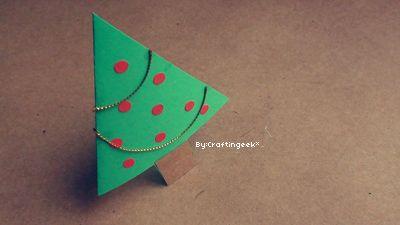 Tarjetas para Navidad - 3 estilos: Pop-up, 3D y Sencillo
