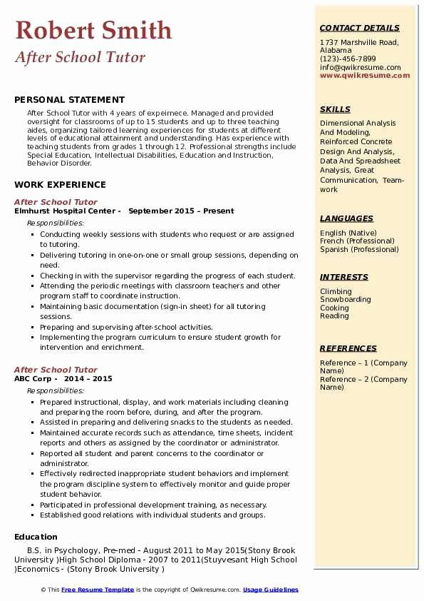 Pin On Best Resume 2020 Biotechnology Master Personal Statement