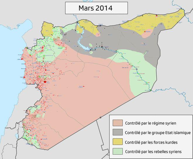 Syrian Civil War (March 2014 - March 2017)