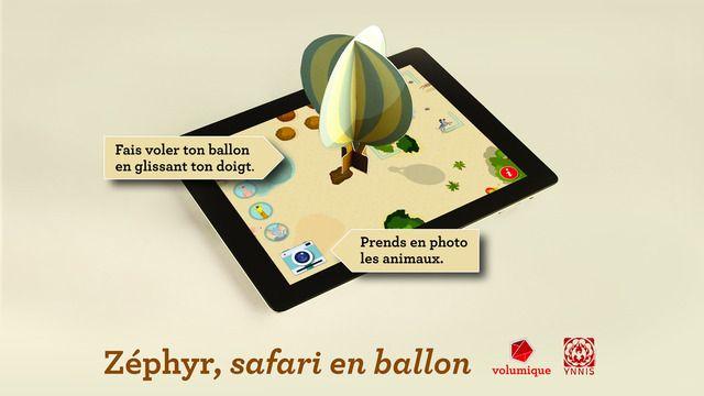 Zéphyr, safari en ballon par les éditions volumiques