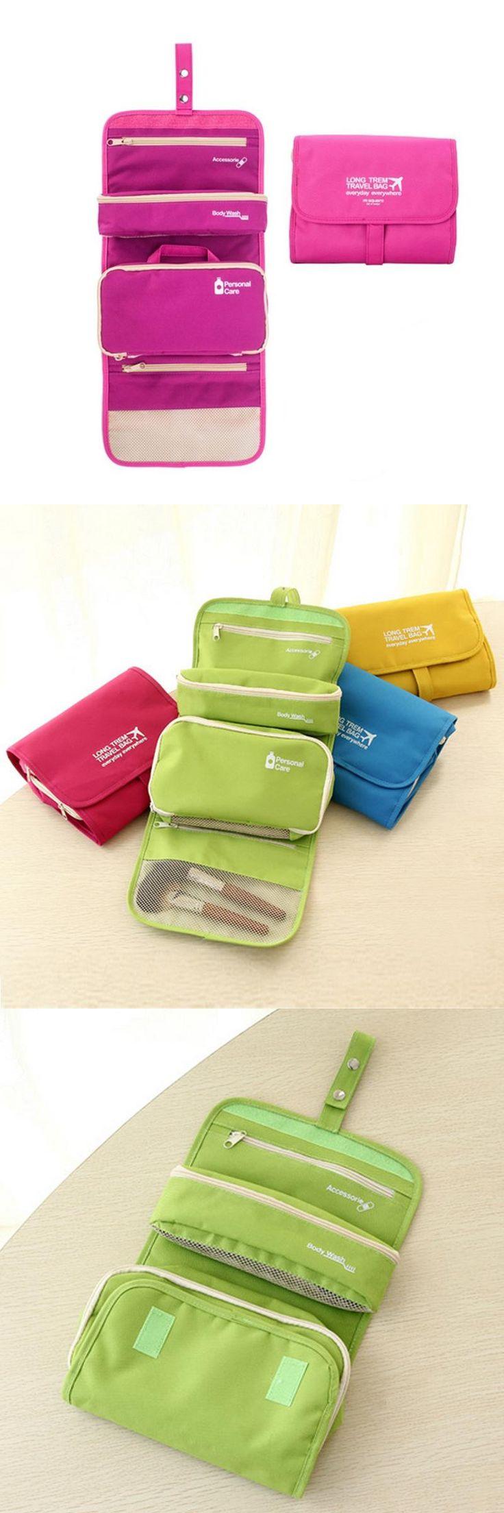 [Visit to Buy] M Square Beautician Travel Cosmetic Bag Organizer Toiletry Makeup Bag Organizador Wash Make Up Bag Bolsa Neceser Maquillaje Case #Advertisement