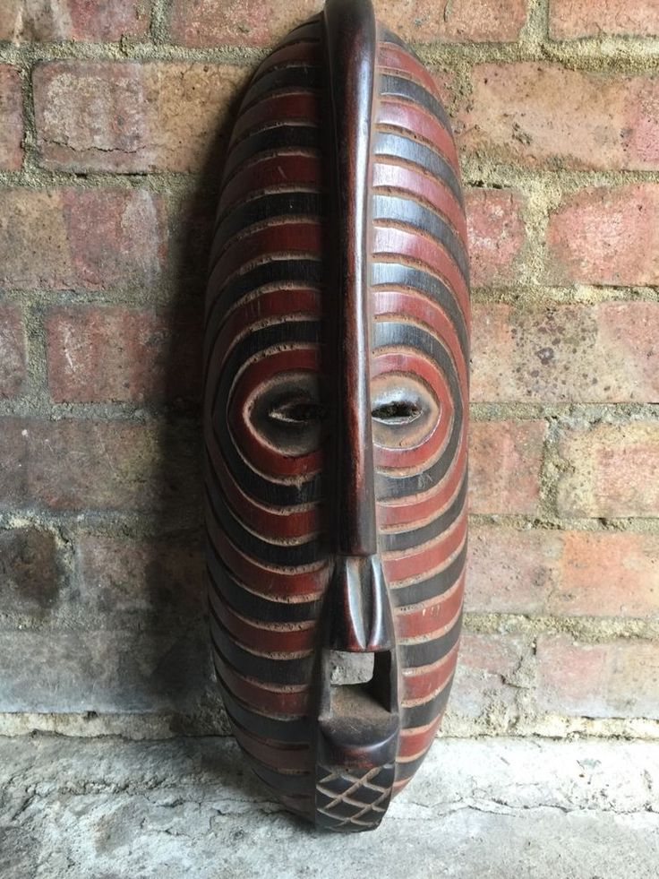 African Oblong Mask