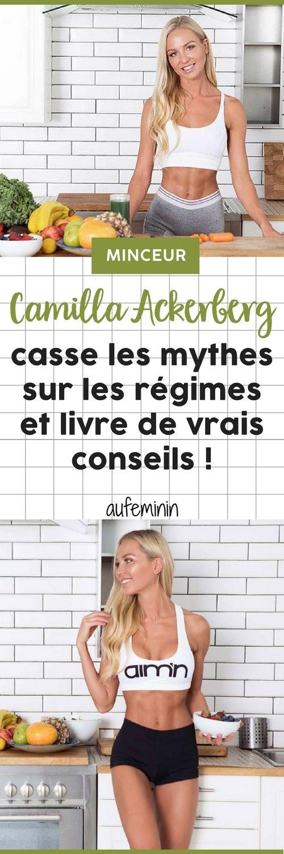 Camilla Ackerberg, la célèbre coach, casse les mythes des régimes et donne de vrais bons conseils pour parvenir à mincir sans (trop) se frustrer ! /// #aufeminin #camillaackerberg #minceur #mincir #régime #commentperdredupoids #perdredupoids #corps