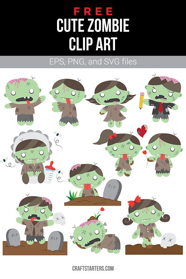 Free Cute Zombie Clip Art Cute Zombie Clip Art Art