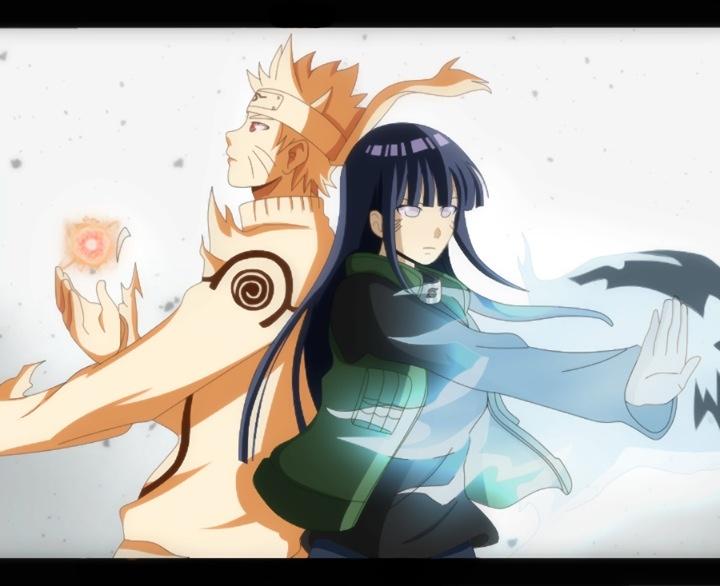 Naruto and Hinata:)