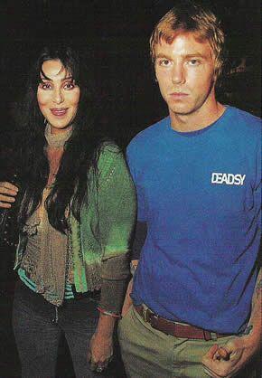 Cher and Elijah Allman (son)