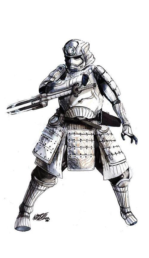 Feudal Star Wars: The Force Awakens Samurai Inspired Redesigns