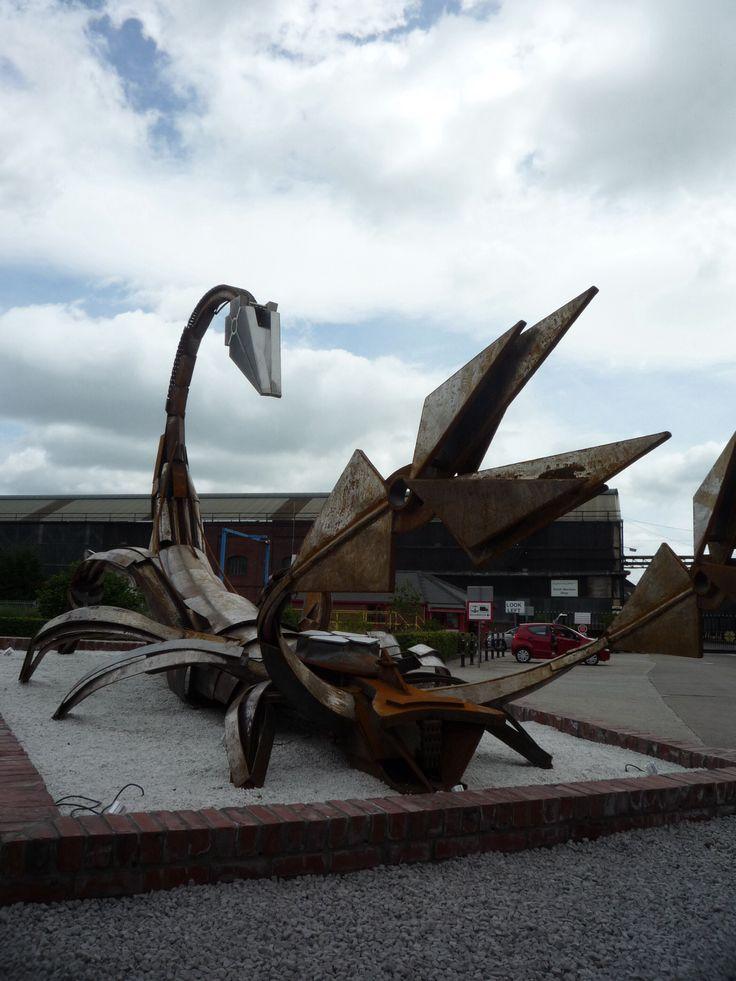 Steel Scorpian, Sheffield UK