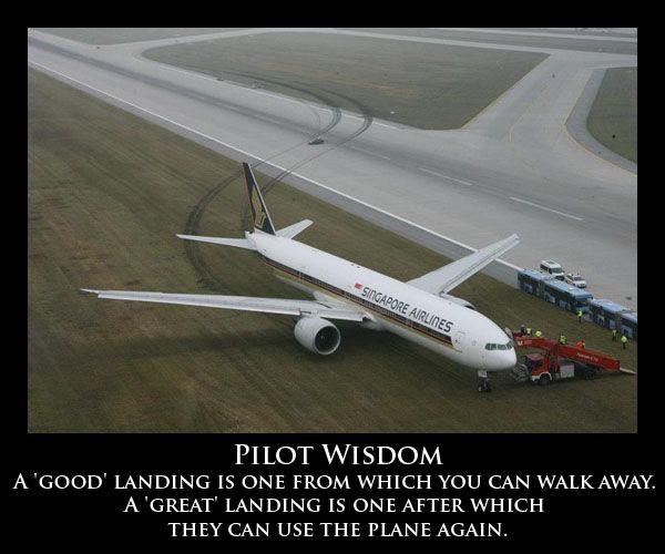 Pilot Wisdom from aviationhumor.net