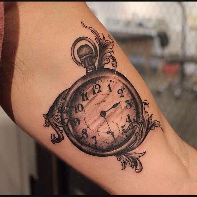 Tattoo Geburt Uhr
