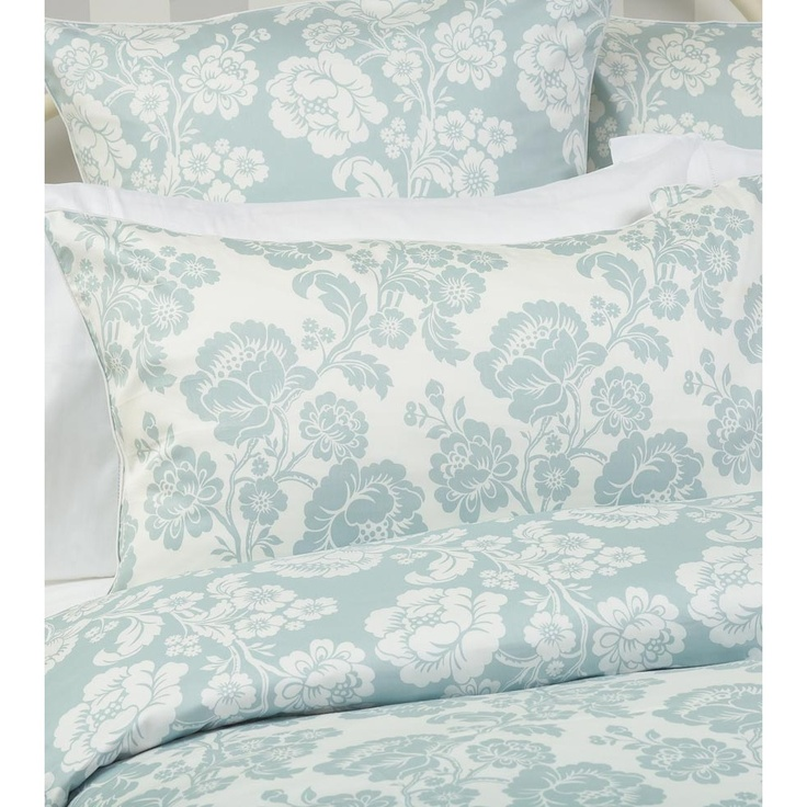 St Germain Duckegg Queen size Quilt Set by Laura Ashley - so pretty, I want I want!