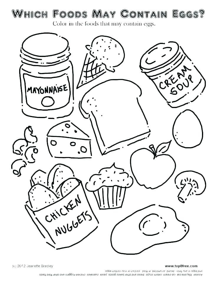 Healthy And Unhealthy Food Coloring Pages Book Farm Free Colouring Food Coloring Pages Free Kids Coloring Pages Neon Food Coloring