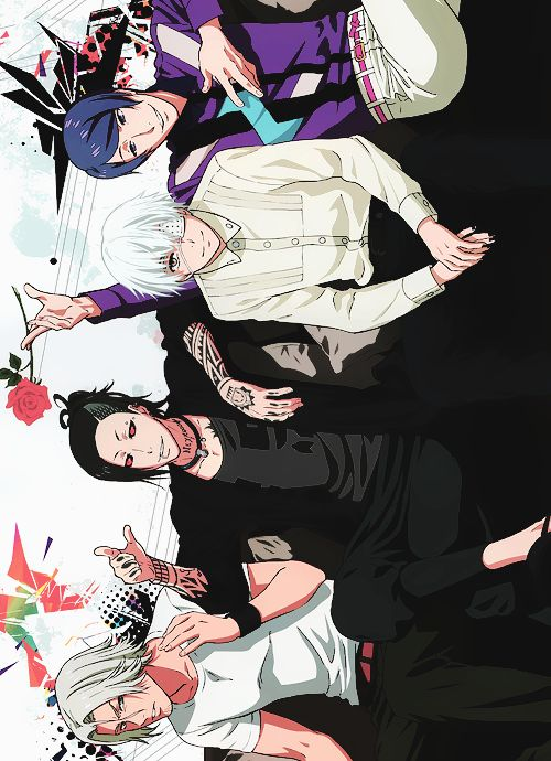 Tokyo ghoul...the squad XD