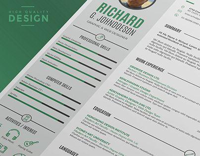 47 best Best Resume Template Designs images on Pinterest Design - resume templates that work