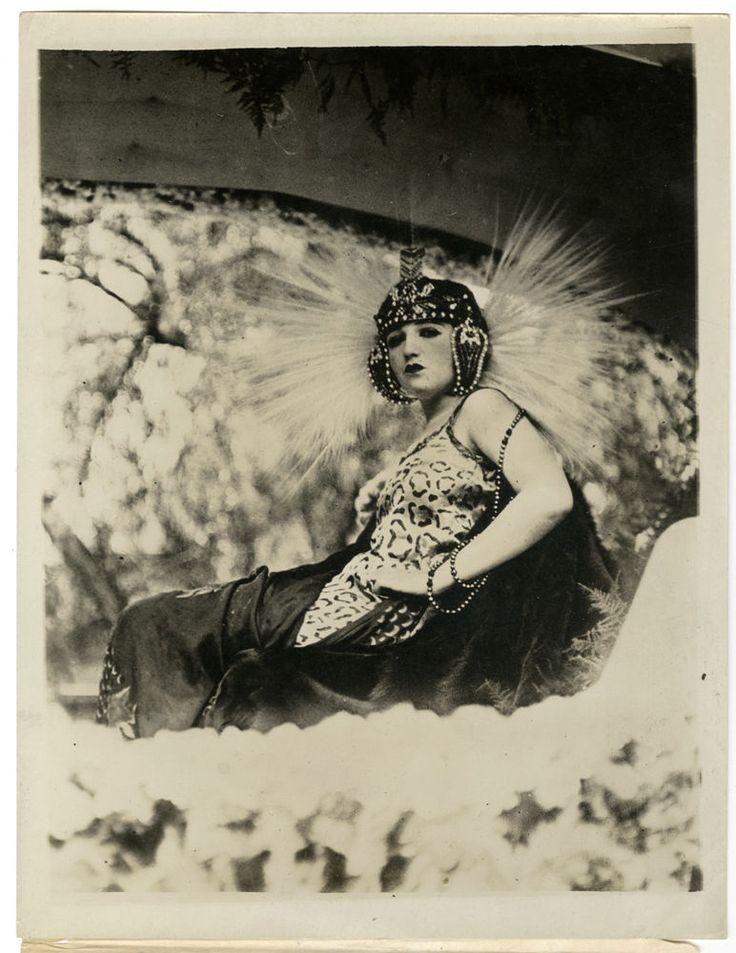 1921 VINTAGE BEBE DANIELS EXOTIC FLAPPER