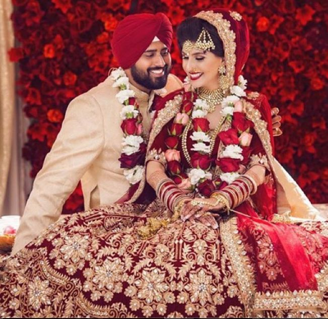 Our Beautiful Client Aman In Her Wedding Leehnga In California,America