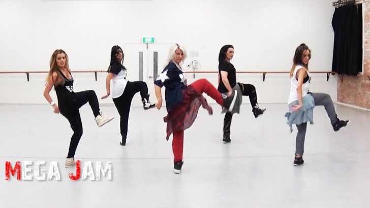 "Pin for Later: Awesome ""Anaconda"" Dance Routines You Need to See  These women absolutely tear it up, hitting all the right notes with Jasmine Meakin's choreography."