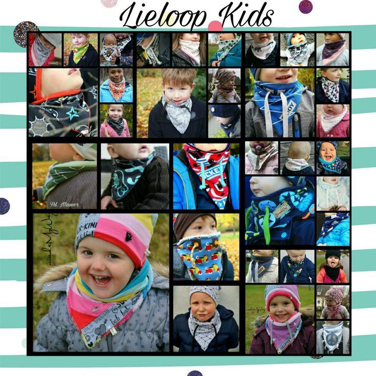 Lieloop Kids / Schlupfschal im Dreieckdesign