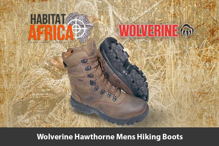 The Wolverine Hawthorne 8″ men's hiking boots feature a…