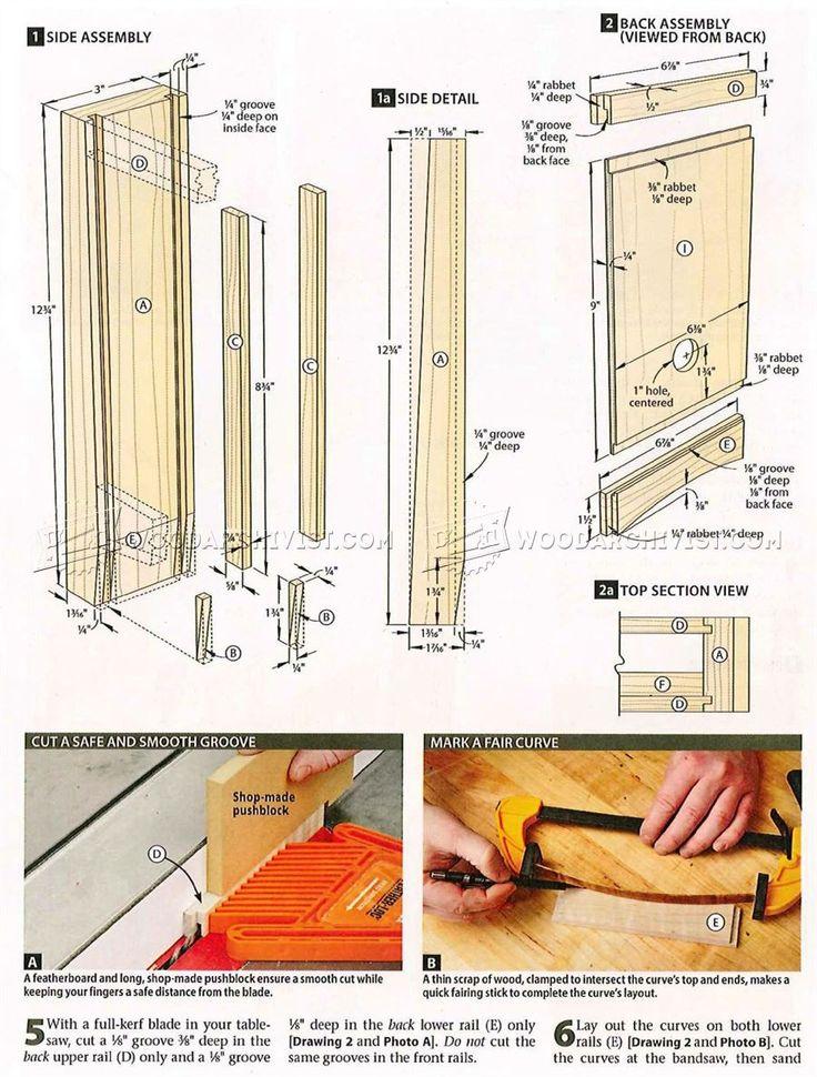 M s de 1000 ideas sobre wooden clock plans en pinterest for Proyectos de carpinteria pdf