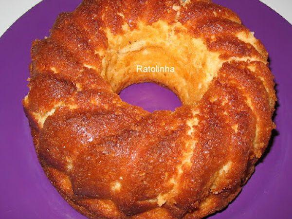 Bolo de iogurte tradicional, Receita de Ratolinha - Petitchef
