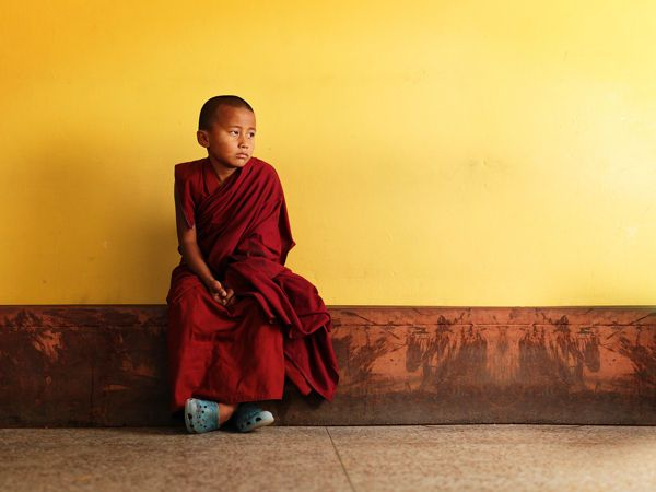 Taking a Break | Heartwarming Monk Photography by Bal Deo