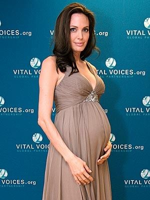 Angelina Jolie...probably with Shiloh