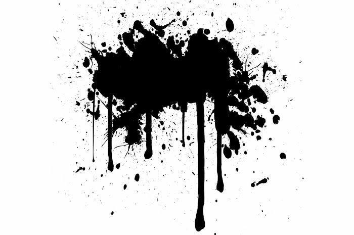 Grunge Splat Background 1601 Vintage Background Ink Png And