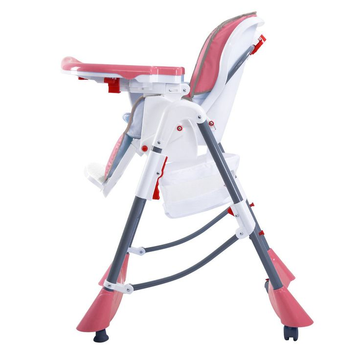 Portable Baby High Chair Infant Toddler Feeding Booster Folding Highchair 3 color - Baby & Toddler Furniture - Furniture