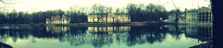 Lazienki Park - The palace in the water Warsaw