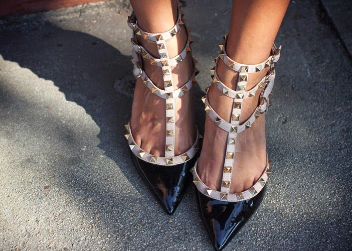 The Look for Less: Valentino Rockstud Shoes
