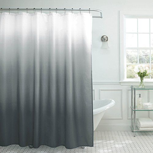 Luxury Creative Home Ideas Ombre Waffle Weave Shower Curtain wit https