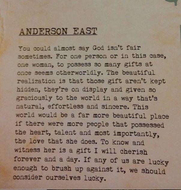 Anderson East on Miranda Lambert -
