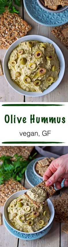 When short of time and not interested in junk food outside, I love to have a quick #vegan snack at home - such as this super tasty #olive #hummus into which I can just dip fresh veggies or #glutenfree bread and be happy. :) And olives are #healthy too, so it's a win-win.