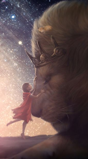Lucy & Aslan The Chronicles Of Narnia! <3