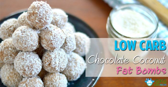 Low Carb Chocolate Coconut Fat Bombs (dairy free, sugar free, Paleo) - Grass Fed Girl, LLC