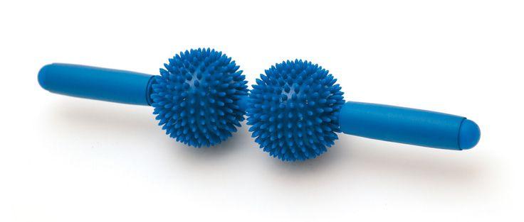 MIt dem SISSEL ®  Spiky Twin Roller kann man sehr einfach Muskelverspannungen und Verspannungsbeschwerden entgegenwirken. Er ist zum Beispiel auch optimal für die Massage der langen Muskulatur entlang der Wirbelsäule geeignet. Die...