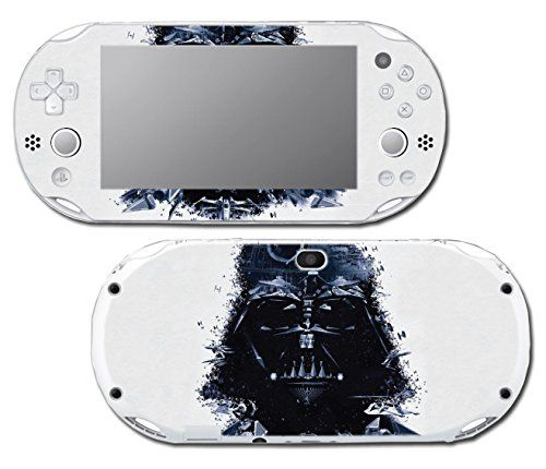Star Wars Darth Vader Imperial Fleet Ship TIE Fighter Video Game Vinyl Decal Skin Sticker Cover for Sony Playstation Vita Slim 2000 Series System -- Want additional info? Click on the image.