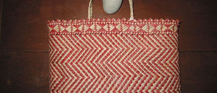 Exhibition of Traditional Maori Weaving at Kemp House