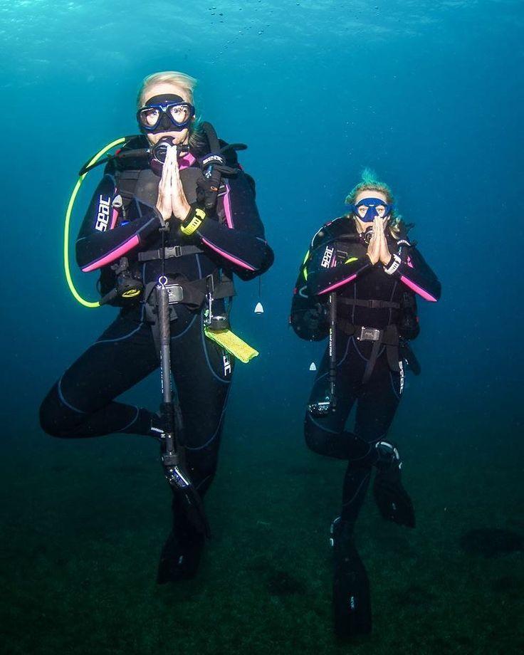 Girl scuba — 4