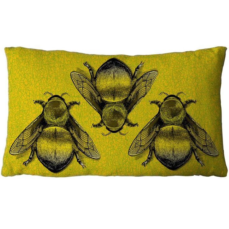 Timorous Beasties Cushions - Three Bee