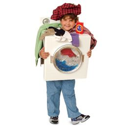 What a terrific idea for Halloween!! I wonder if I could convince one of my kids to wear it!!