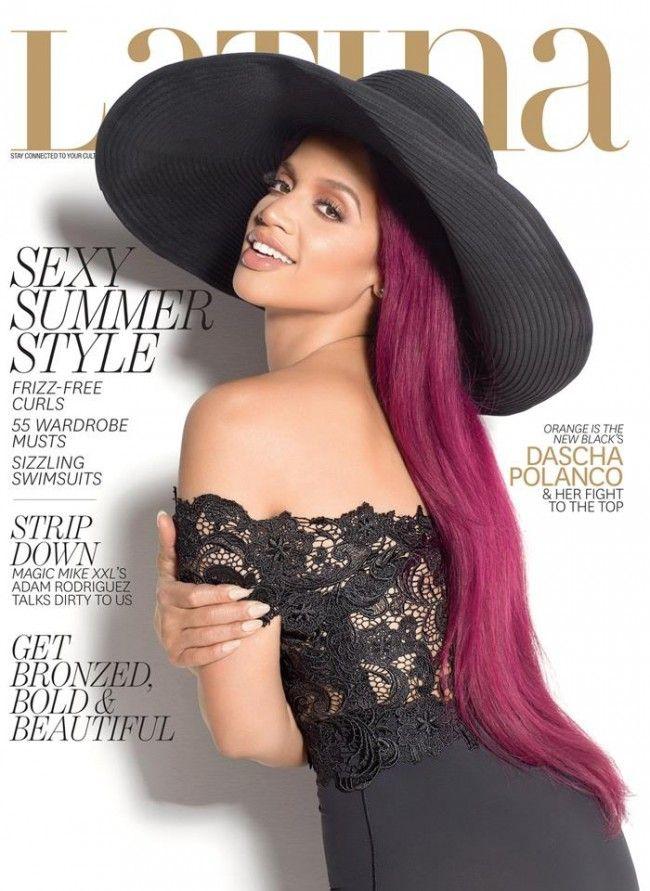 Orange Is the New Black's Dascha Polanco Covers Latina Magazine June/July 2015
