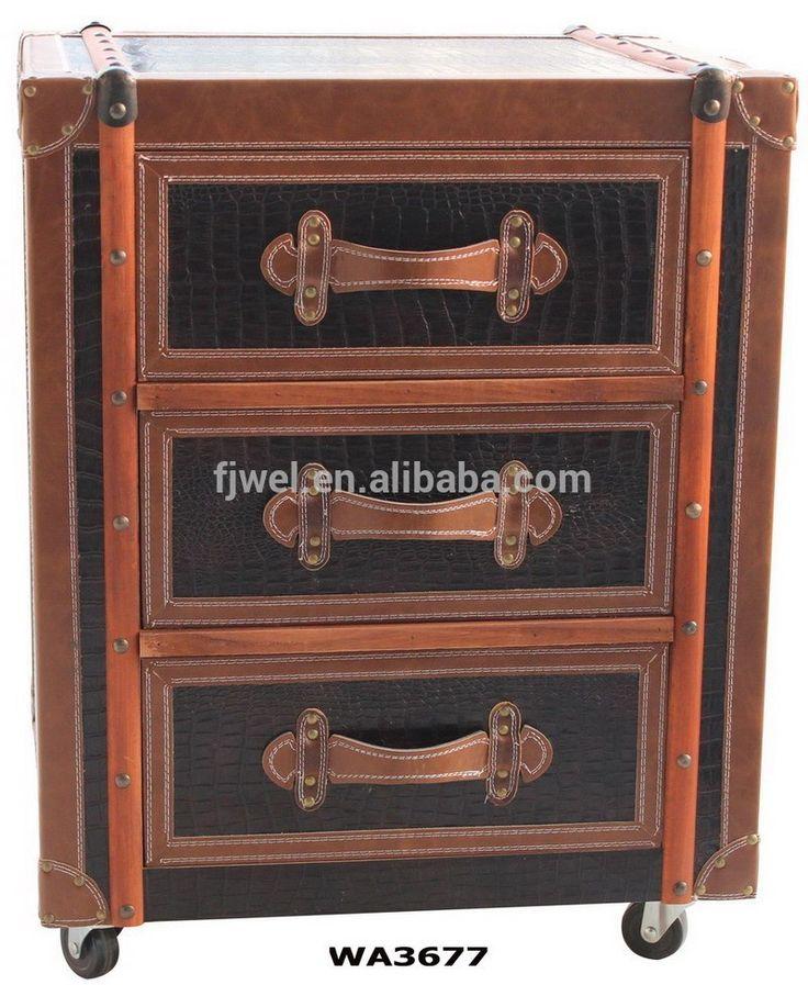 vintage retrò marrone crocodille comò-Armadietto di legno-Id prodotto:60131405790-italian.alibaba.com